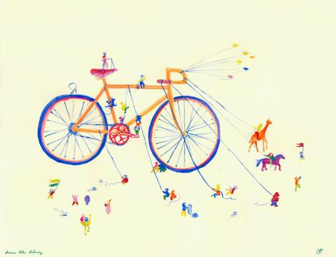 Art dream bike by Jessica-Findle