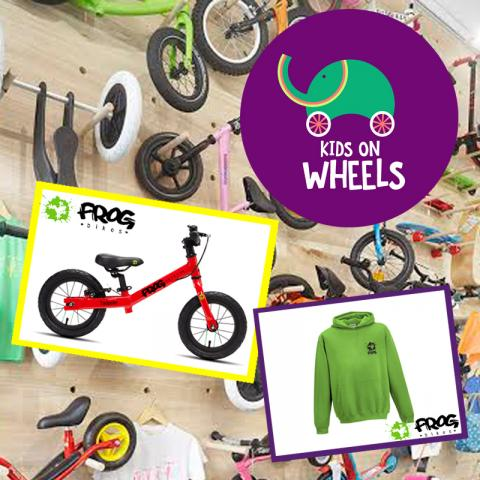Kids on Wheels y Frog Bikes colaboran en la Pantumacona